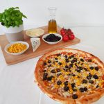 Uni cafe pizza s olivou